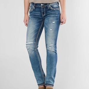 Rock Revival Andrea Easy Straight Stretch Jean NEW
